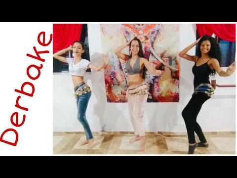 ✅ Coreografia de Derbake - Patricia Cavalcante - Passo a Passo Link na Descrição - Dança do Ventre