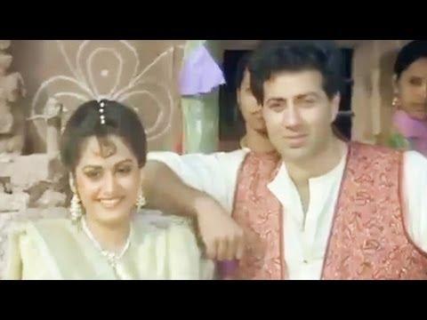 Sunny Deol, Jayaprada, Veerta - Scene 14/21