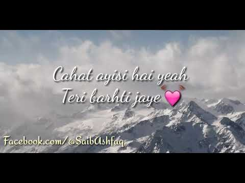 Atif aslam complete song AADAT lyrics.