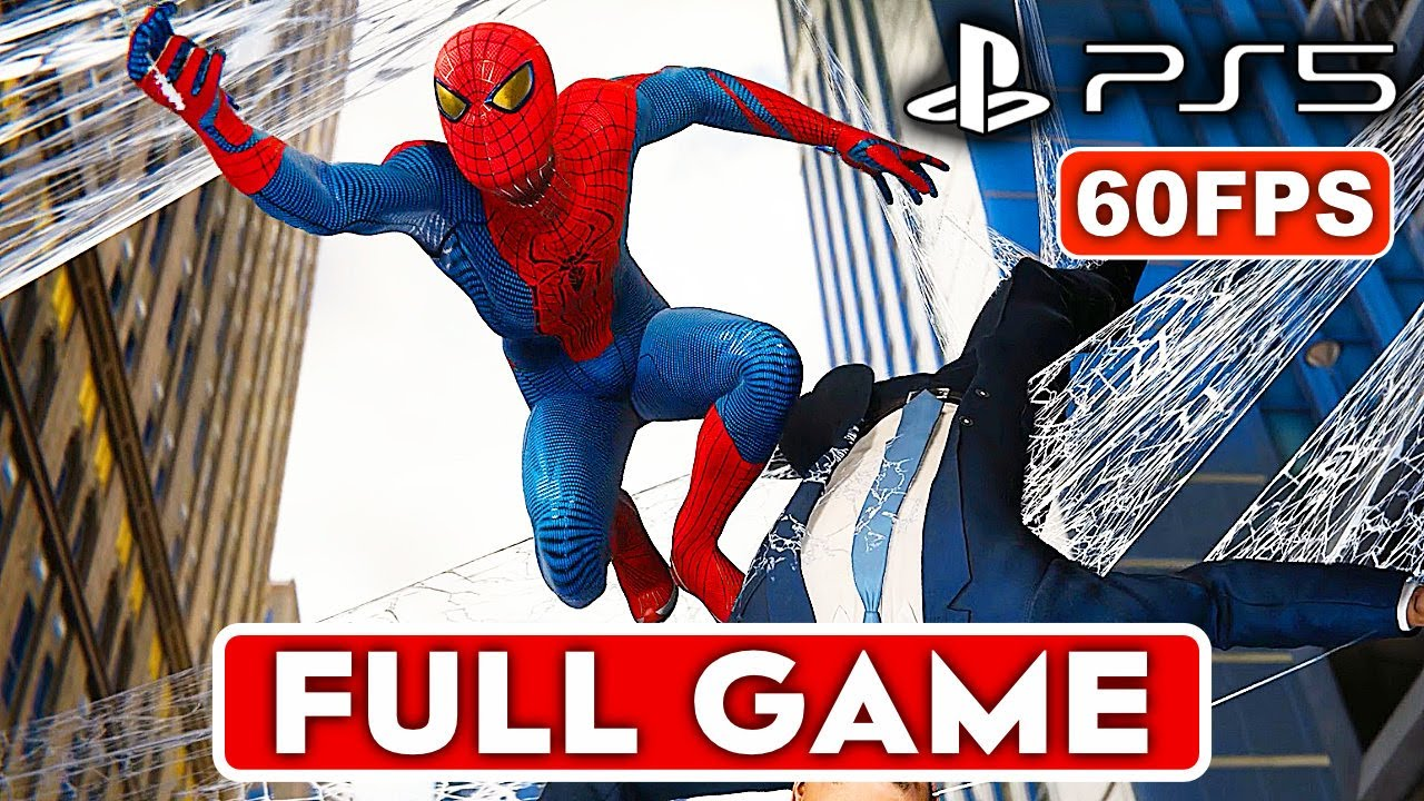 Download SPIDER-MAN REMASTERED PS5 Gameplay Walkthrough Part 1 FULL GAME [1080P 60FPS HD] - No Commentary