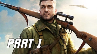 Sniper Elite 4 Walkthrough Part 1 - First Mission (PS4 Pro Let