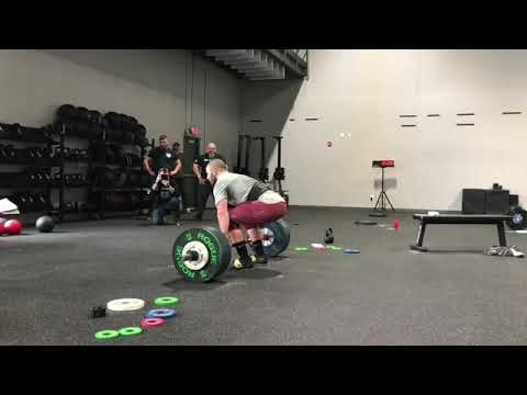 Mat Fraser 18.2 CrossFit Games 385 Clean