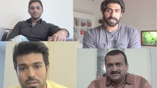 Ram Charan, Allu Arjun, Rana & producers about Kalyan Ram
