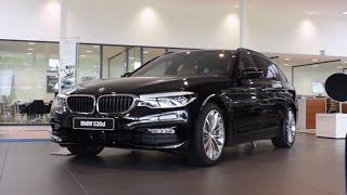 BRAND NEW: BMW 530d TOURING SPORT LINE DETAILS !!