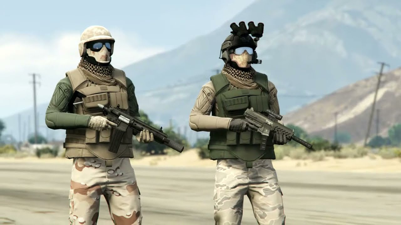 GTA 5 Online SMUGGLERS RUN | NEW MILITARY OUTFITS | GTA 5 Online TRYHARD/RNG | GHOST RECON ...