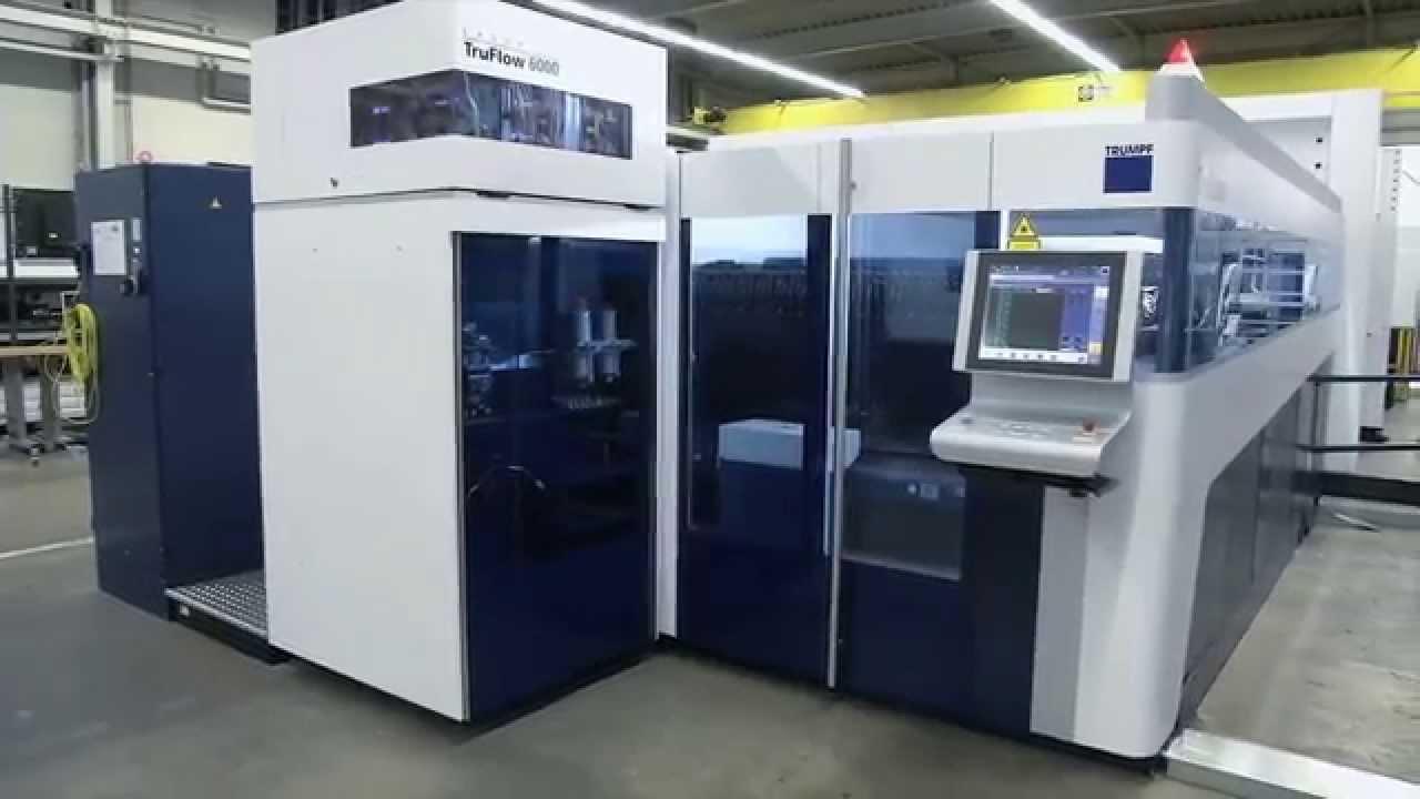 Trumpf Laser Cutting Trulaser 5030 2013 The Machine S