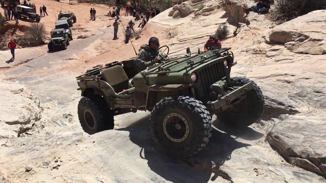 Flat Fender Jeep >> EJS 2016 Flat Fender Run Wipe Out Hill - YouTube