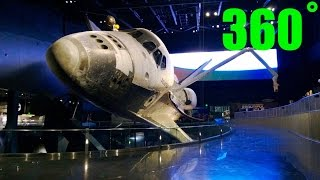 Space Shuttle Atlantis Walk Around 360˚ HD -- Kennedy Space Center