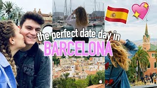 THE PERFECT DATE DAY IN BARCELONA! Sight Seeing & Bank Holiday Fail...