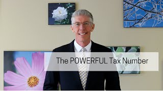 The POWERFUL Tax Number  //Mark's Minute on Money//