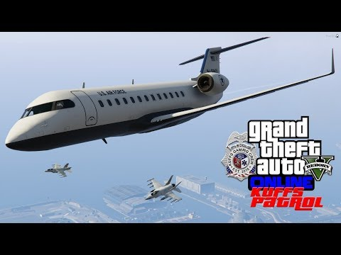 GTA 5 Police Roleplay | Flying The Mayor With A Fighter Jet Escort |  KUFFS Multiplayer #145