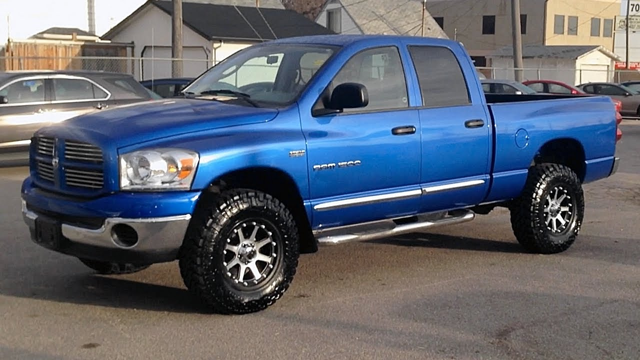 lifted 2007 dodge ram 1500 rtxc ride time lifted trucks in winnipeg mb canada youtube. Black Bedroom Furniture Sets. Home Design Ideas