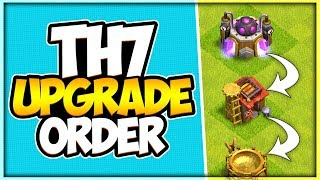 What Do I Upgrade Next! | New TH 7 Upgrade List 2019 | Clash of Clans