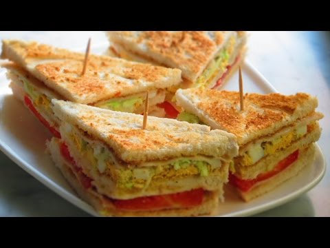 Samosa Club Sandwhich at Health Juice Centre Kings Circle Mumbai