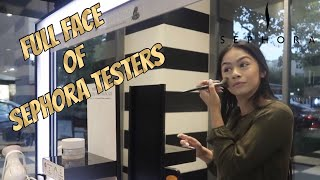 Full Face Using Sephora Testers! | Daisy Solano
