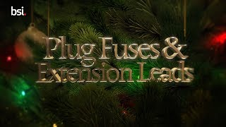 Christmas Lights Safety Tips - What to look out for in plugs, fuses and extension leads