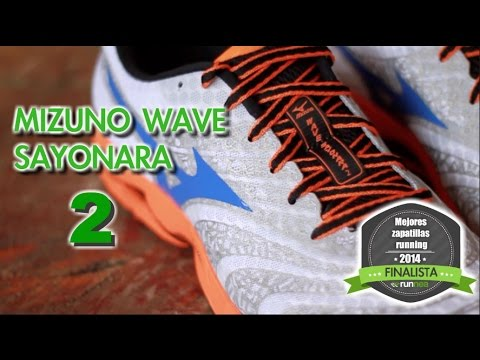 zapatillas mizuno sayonara 2