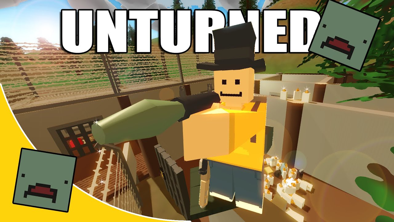 Download Unturned Funny Moments With Friends - The Prison!