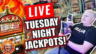 🔴 THIS WILL BE CRAZY! 🎰Hitting The BIGGEST SLOT  JACKPOTS ON YOUTUBE! LIVE!
