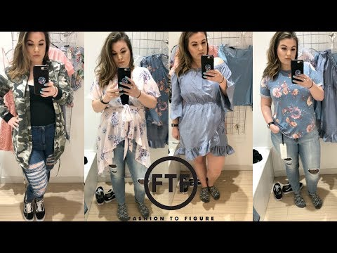 CURVY FASHION TO FIGURE INSIDE THE DRESSING ROOM| Are they back? | Kelly Elizabeth