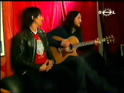 John Frusciante and Anthony Kiedis HAVANA AFFAIR acoustic