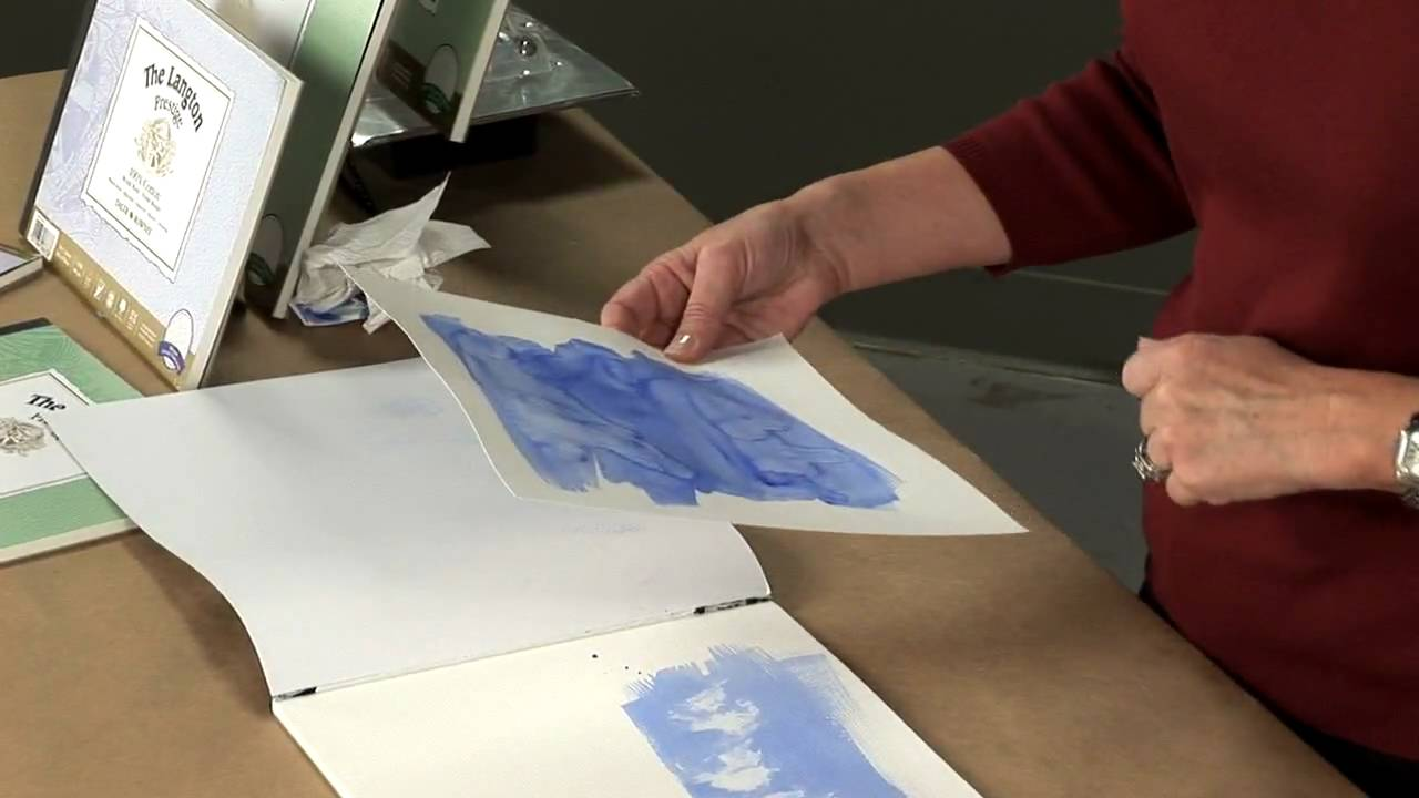 Daler Rowney Langton 10x14in Watercolour Paper Block 140lb Not