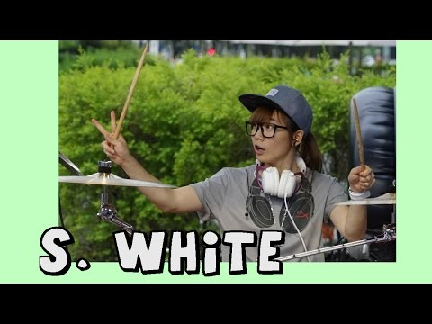 "Awesome T-ARA Drum Covers & more / ""S. White"" Taiwanese SuperGirl"