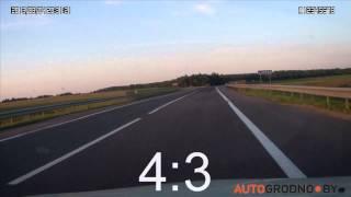 Как водители на трассе Минск-Гродно предупреждают о ГАИ