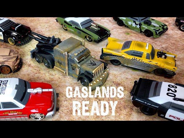 GASLANDS READY Diecast Jada Battle Machines