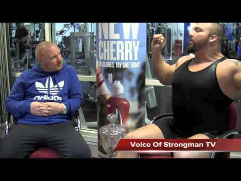 VOS TV - Eddie Hall - The Story So Far...(Part One)