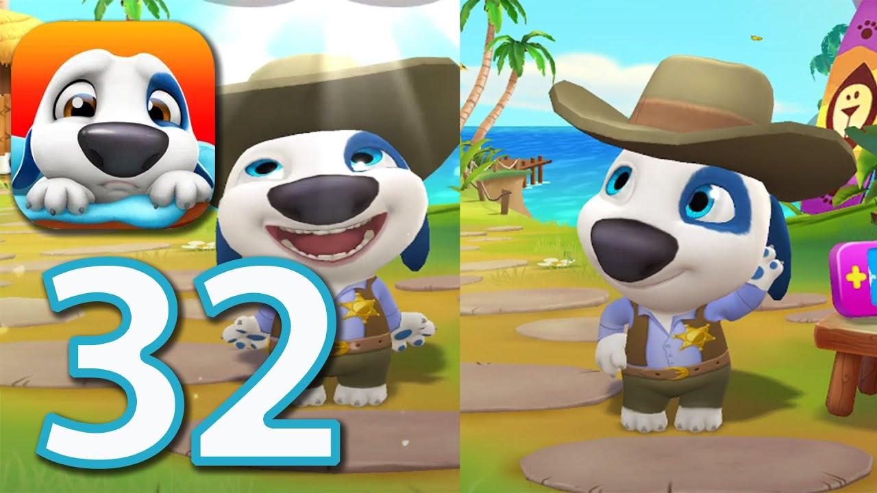 My Talking Hank - Walkthrough Gameplay Ep 32 HD (iOS, Android)