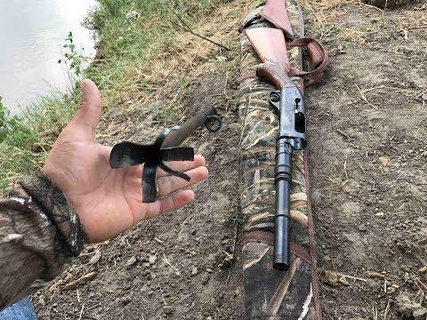 Remington 1100 -Barrel blew up!