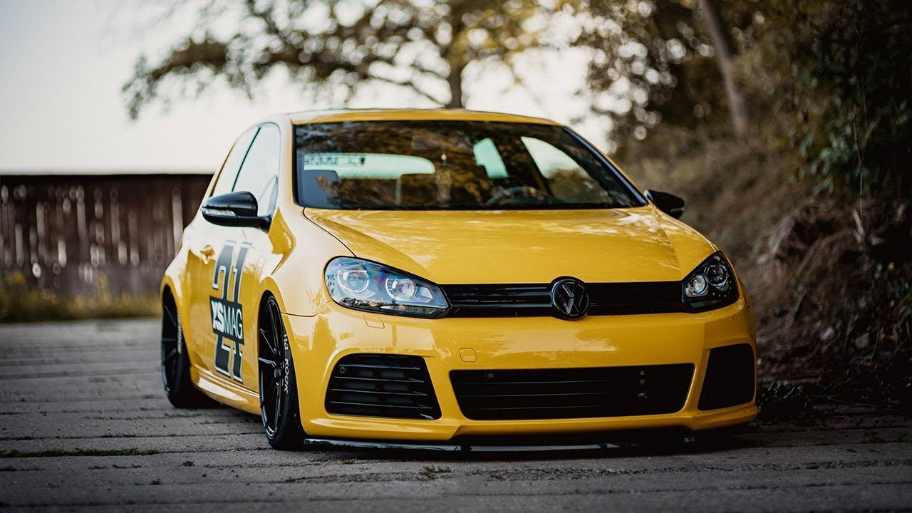 VW GOLF MK6 GTI BAGGED TUNING PROJECT ? - YouTube