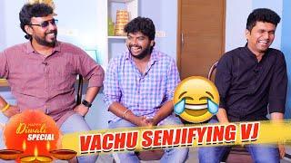 Vanitha அக்காவை பார்த்தா எங்களுக்கு பயமில்லை | Erode Mahesh | VJ Aadhavan | TSK