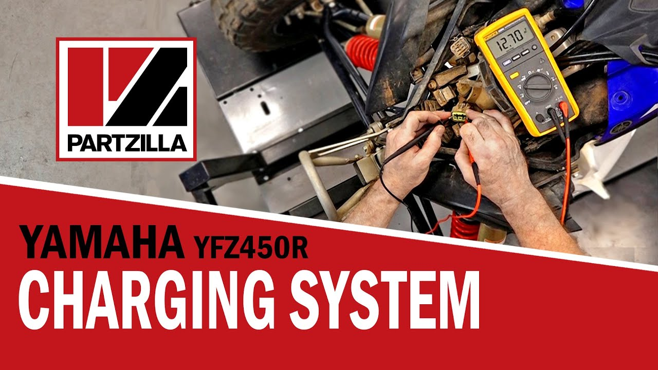 hight resolution of yamaha atv electrical problems yfz450r not charging partzilla com
