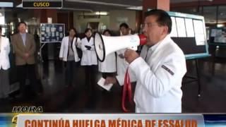 Baixar Médicos de EsSalud del Cusco continúan en huelga