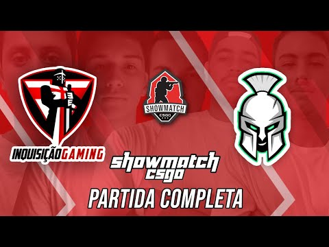CS:GO - Showmatch ComuGL - Inquisição Gaming vs Sparta Academy