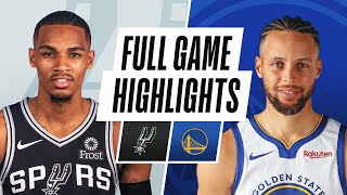 SPURS at WARRIORS | FULL GAME HIGHLIGHTS | January 20, 2021