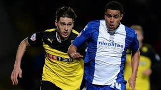 Tom Adeyemi   Young Player of the Season 2013/14   Birmingham City