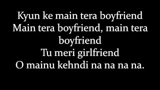 (LYRiCS)Main Tera Boyfriend Full Song Lyrical Video– Arijit Singh | Raabta HD thumbnail