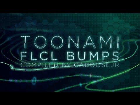 Toonami - FLCL S1 2018 Rerun Bumpers (HD 1080p)