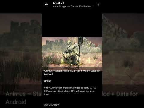 🥇 Animus – Stand Alone 1 2 1 Apk + Mod + Data for Android Offline