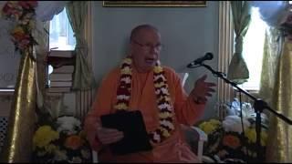 Бхакти Чайтанья Свами - Кришна присутствует в божестве (19 мая 2014, Омск)