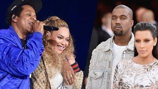 Jay Z FINALLY Speaks Out ABout Kim K & Kanye West Wedding No Show!