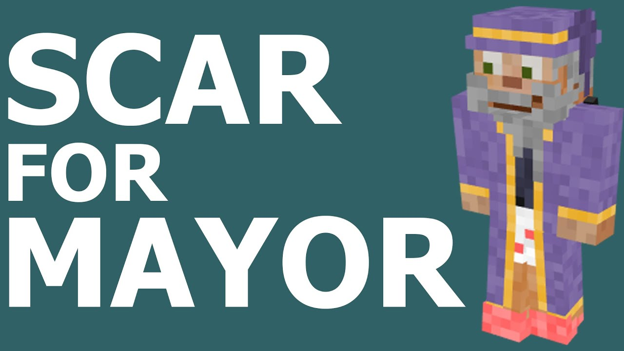 Download Hermitcraft Commercial - Scar for Mayor!