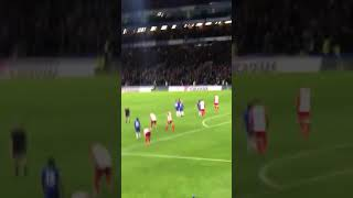 Eden Hazard amazing goal from the stands/ Chelsea 3-0 West Bromwich/ 12.02.2018