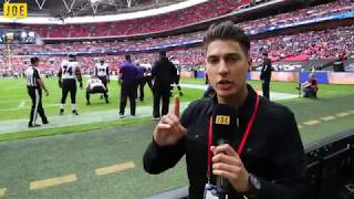 We went behind-the-scenes at the NFL London Games. Jacksonville Jaguars v Baltimore Ravens