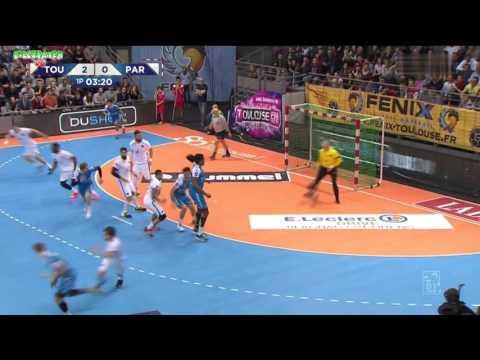 Toulouse VS Paris SG Handball LNH D1 2015 2016 10e journée