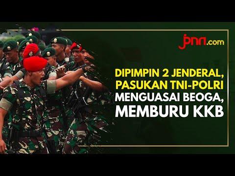 Dipimpin 2 Jenderal, Pasukan TNI-Polri Pemburu KKB Berhasil Kuasai Beoga