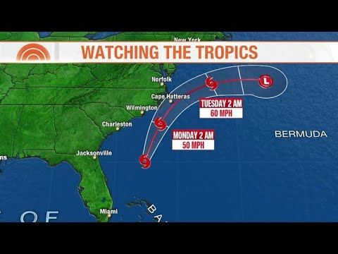 Tropical Storm Arthur forms off Florida, inches towards East Coast